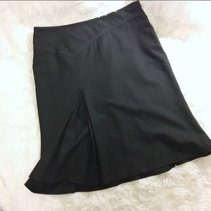 The Limited Black A Line Skirt NWOT